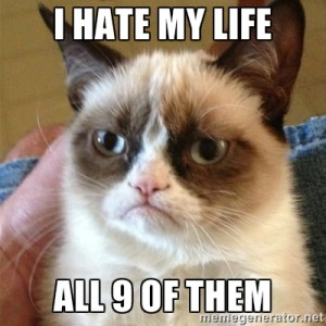 Nesnáším svůj život - mám depku